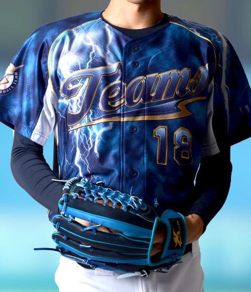 3D昇華ユニホームシャツ INAZUMA TEAMS 野球